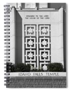 The House Of The Lord Spiral Notebook