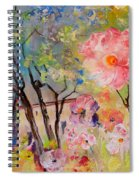 The House Of The Rising Flowers Spiral Notebook