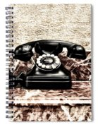 The House Phone Spiral Notebook