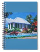 The House With Green Shutters Spiral Notebook