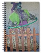 The Hula Hoop Witch Spiral Notebook