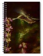 The Hummingbird Digital Art Spiral Notebook