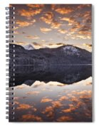 The Hut By The Lake Spiral Notebook