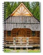 The Hut Spiral Notebook
