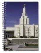 The Idaho Falls Mormon Temple Spiral Notebook