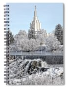 The Idaho Falls Temple Spiral Notebook
