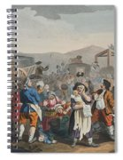 The Idle Prentice Executed At Tyburn Spiral Notebook