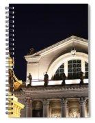 The Illumination Of Saint Louis Ix Spiral Notebook