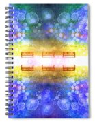 The Illusion Benches Spiral Notebook