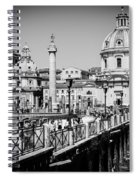 The Imperial Fora Spiral Notebook