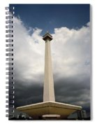 The Independence Monument Spiral Notebook