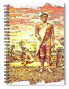 The Indian Tribe Spiral Notebook