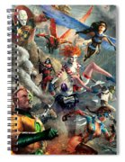 The Invincibles Spiral Notebook