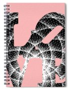 The Invisible Lines That Hold Love Together Spiral Notebook