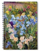 The Iris Bed Spiral Notebook