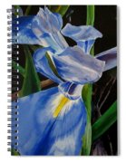 The Iris Spiral Notebook