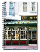 The Irish Pub - Philadelphia Spiral Notebook