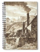 The Iron Forge Between Dolgelli Spiral Notebook