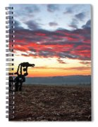 The Iron Horse Early Dawn The Iron Horse Collection Art Spiral Notebook