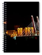 The Iron Horse And 6th Street Bridge Spiral Notebook