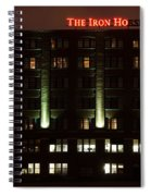 The Iron Horse Hotel Spiral Notebook