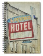 The Irving Hotel In Chicago Spiral Notebook