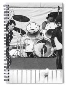 The J. Geils Band Rock Out In Oakland In 1976 Spiral Notebook