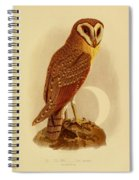 The Java Owl Cassell Spiral Notebook