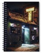 The Jazz Estate Nightclub Spiral Notebook