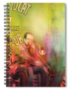 The Jazz Vipers In New Orleans 03 Spiral Notebook