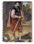The Jester Named Don John Of Austria Spiral Notebook
