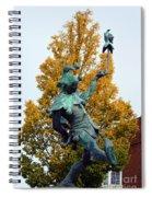 The Jester Touchstone Spiral Notebook