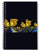 The Jester's Golden Pop-poppies Spiral Notebook