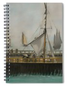 The Jetty Of Boulogne-ser-mer Spiral Notebook