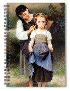 The Jewel Of The Fields Spiral Notebook