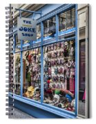 The Joke Shop Spiral Notebook
