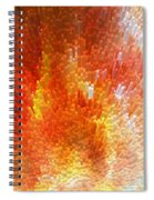 The Journey - Abstract Art By Sharon Cummings Spiral Notebook