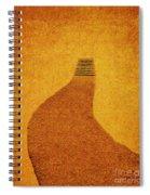 The Journey Wall Art  Spiral Notebook