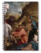 The Journey To Calvary, C.1540 Spiral Notebook