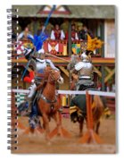 The Jousters 2 Spiral Notebook