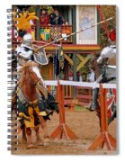 The Jousters 3 Spiral Notebook