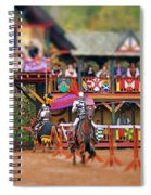 The Jousters Spiral Notebook