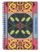 The Joy Of Design I X Arrangement Doors Spiral Notebook