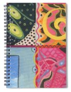 The Joy Of Design I X Part 2 Spiral Notebook