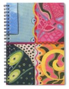 The Joy Of Design I X Part 4 Spiral Notebook