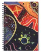 The Joy Of Design II Part Two Spiral Notebook