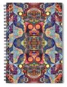 The Joy Of Design Mandala Series Puzzle 1 Arrangement 5 Spiral Notebook