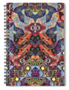 The Joy Of Design Mandala Series Puzzle 1 Arrangement 9 Spiral Notebook