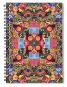 The Joy Of Design Mandala Series Puzzle 2 Arrangement 1 Spiral Notebook