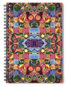 The Joy Of Design Mandala Series Puzzle 2 Arrangement 9 Spiral Notebook